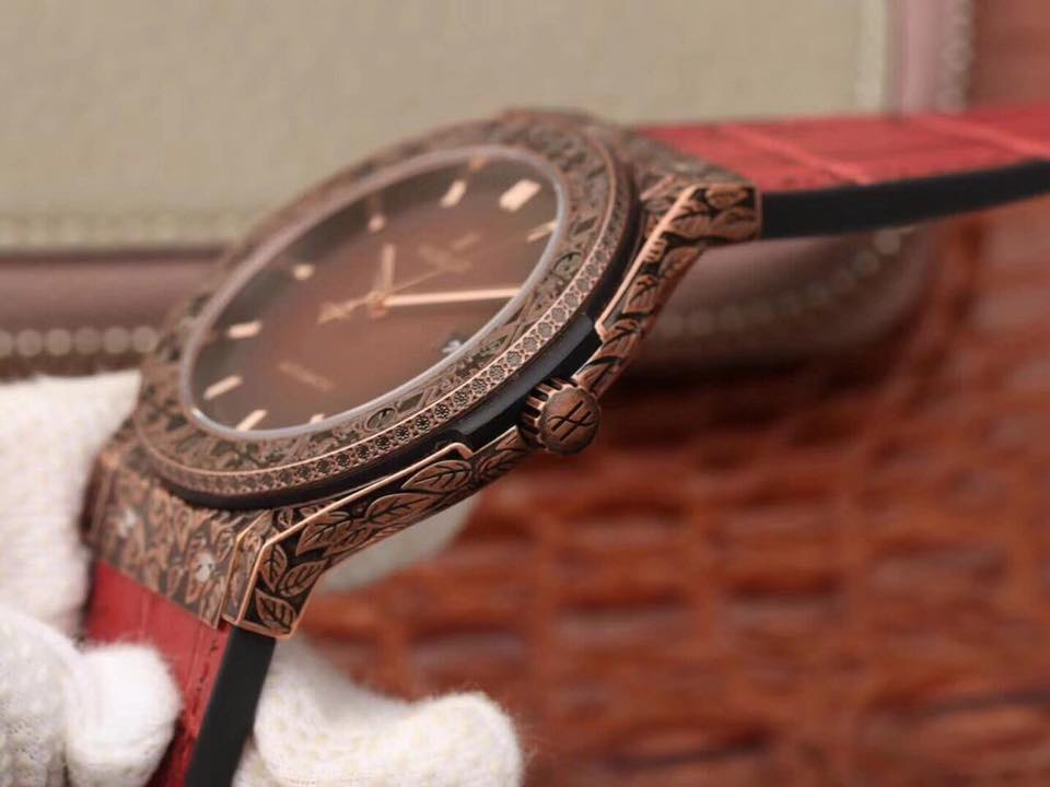 Đồng Hồ Hublot Fake 1-1 Classic Fusion Fuente Red