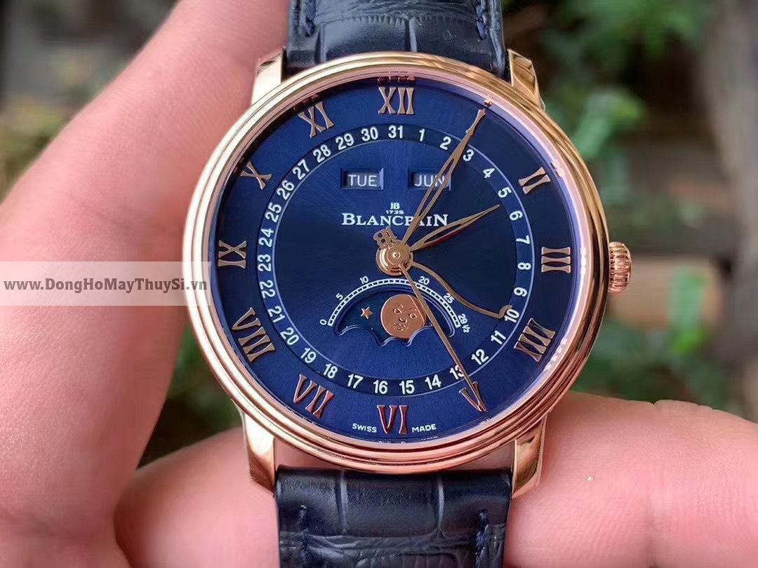 Đồng hồ Blancpain fake Hà Nội sử dụng chất liệu gì