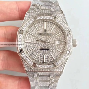Audemars Piguet Royal Oak Diamond Sliver Fake 1-1 Cao Cấp