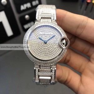 Cartier Ballon Bleu Full Diamond FAKE 1-1 SIÊU CẤP