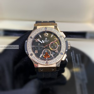 Hublot BigBang Tuiga Diamond Gold Fake 1-1 Siêu Cấp