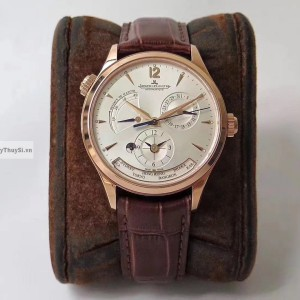Jaeger Lecoultre Master Control Geographic Black Gold Fake 1-1 Cao Cấp