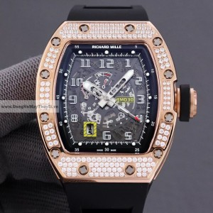 Richard Mille RM 030 GOLD DIAMOND FAKE 1-1 CAO CẤP