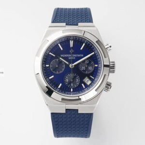Vacheron Constantin Stainless Steel Blue Fake 1-1 Cao Cấp