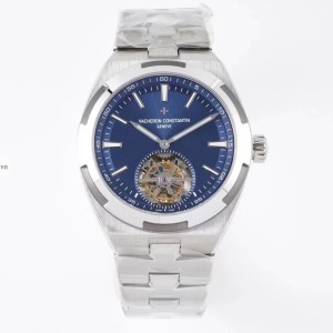 Vacheron Constantin Stainless Steel Blue Tourbillon Fake 1-1 Siêu Cấp