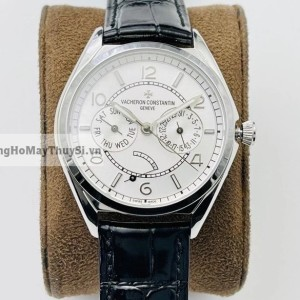 Vacheron Constantin TRADITIONNELLE DAY-DATE White Replica 1-1 Cao Cấp